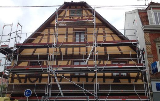 Illustration Rénovation d'une façade