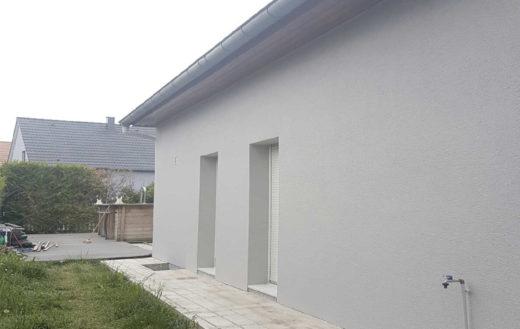 Illustration Mise en peinture d'une façade