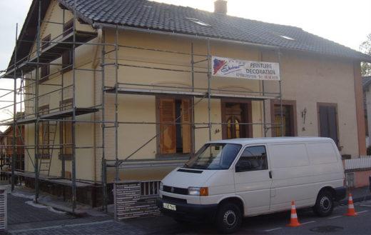 Illustration Rénovation d'une maison ouvrière