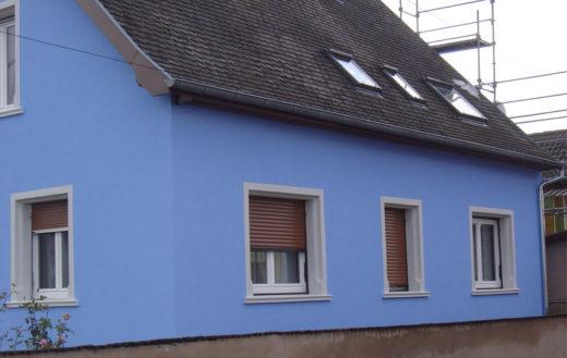 Illustration Isolation thermique d'une façade